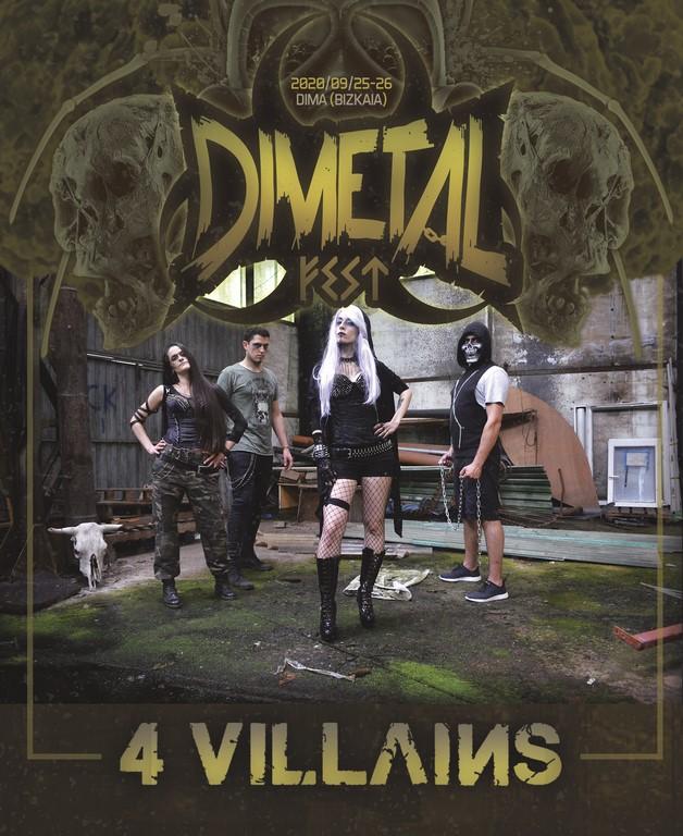 4 VILLAINS - Dimetalfest
